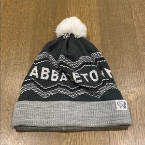 """Toque, Grey and White """"Cabbagetown"""""""